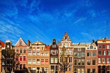 Rundtur till fots i Amsterdam