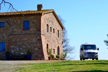 Florence to Tuscany to Rome One Way Private Transfer