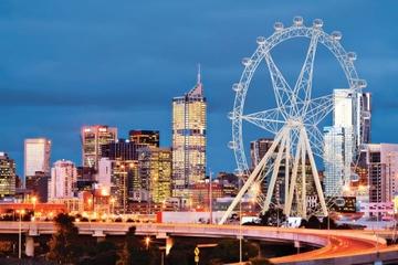 Entrada da roda-gigante de observação Melbourne Star