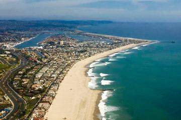 Passeio de helicóptero pelas praias...