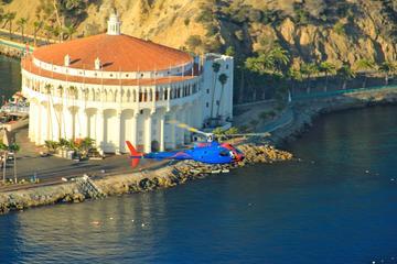 Vuelo en helicóptero a Isla Catalina...