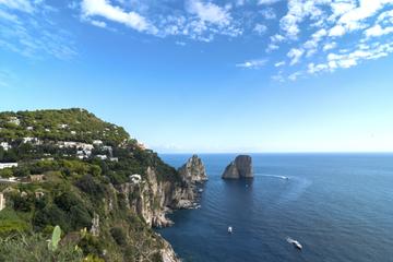 Croisière en petit groupe à Capri au départ de la côte d'Amalfi