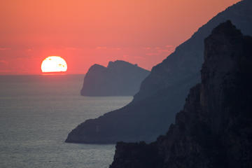 Private Amalfi Coast Sunset Cruise from Positano