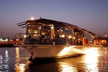 Crociera con cena a bordo del Bateaux Dubai