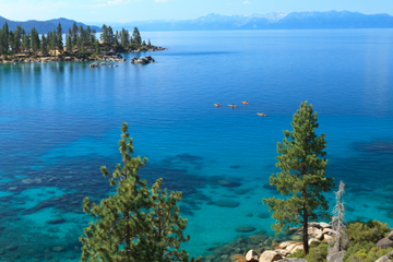 South Lake Tahoe Kajakverleih