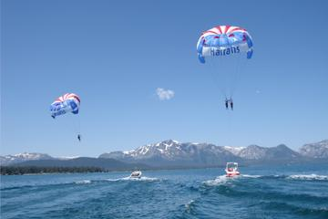 South Lake Tahoe Super Saver: Jet Ski Rental plus Parasailing