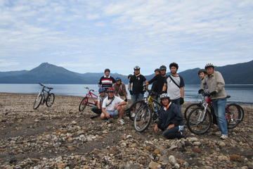 Lake Shikotsu Mountain Bike Tour from
