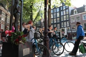 Fietstocht door Amsterdam