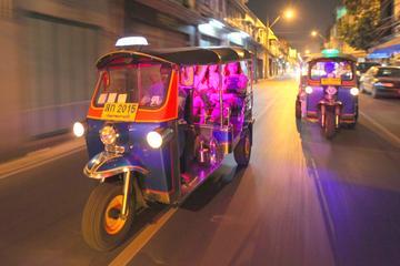 バンコク ナイトツアー:夜のお寺、マーケット、…