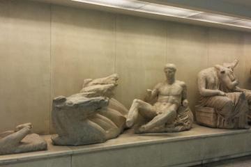 Excursão pelas estações de metrô de Atenas: Escavações e tesouros...