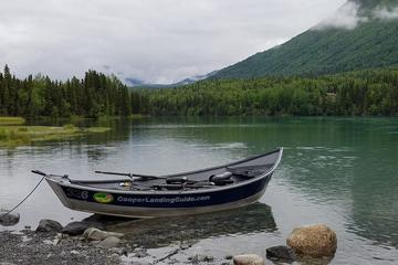 Day Trip Full Day Fishing Package  Kenai River or Kasilof River Salmon and Trout near Cooper Landing, Alaska
