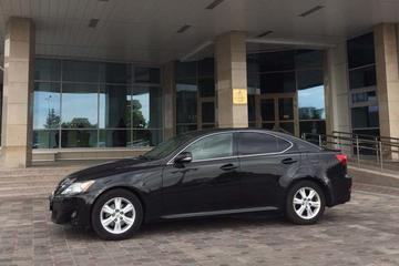 Taxi from Minsk Airport to City Center by Business Class Car Lexus 2012 year