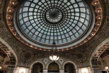 Tour a piedi di Chicago: architettura interna del tour con giro e vie