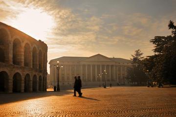 Spaziergang durch Verona: Verona Arena und historisches Zentrum