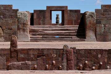 Private Tour: Tiwanaku Archeological Site from La