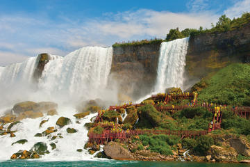 Halbtägige Tour nach Niagara Falls, NY mit Cave of the Winds