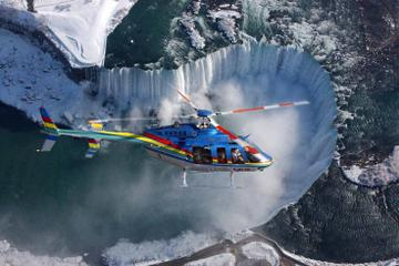 Day Trip Ultimate Niagara Falls Tour plus Helicopter Ride and Skylon Tower Lunch near Niagara Falls, Canada
