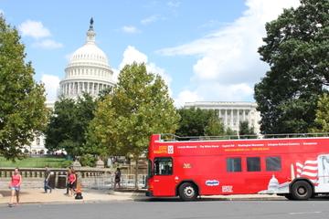 Excursão em ônibus panorâmico para Washington DC e passe para as...