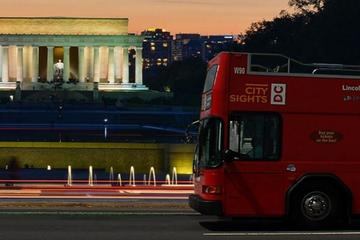 Washington DC Double Decker Bus Guided Night Tour