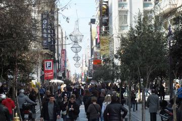 Recorrido privado por las tiendas en Atenas