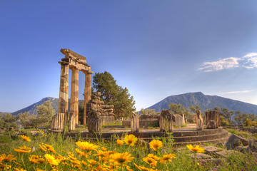 Self Guided Delphi Day Trip from