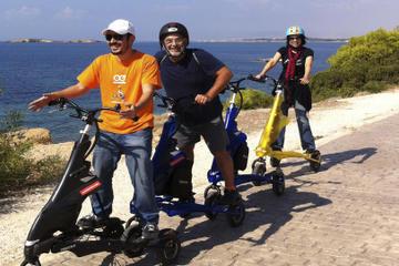 Tour privato: Tour della costa di Atene in TRIKKE