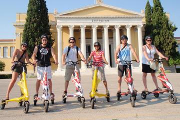 Visite en petit groupe du centre d'Athènes en TRIKKE