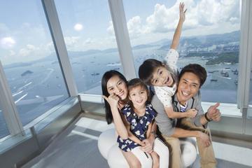 Eintrittskarte zur Aussichtsplattform Sky100 in Hongkong