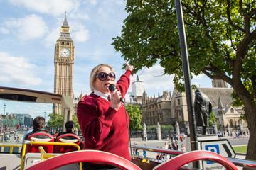 乗り降り自由のロンドン市内観光Big Busツ…