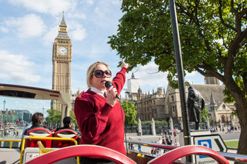 Big Bus hop-on hop-off tour door Londen