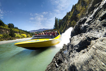 Queenstown Jet Boat Ride on Lake Wakatipu and the Kawarau and...