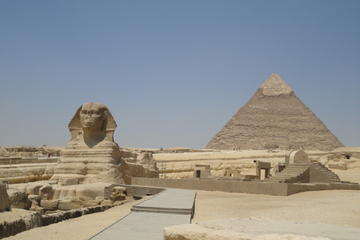 Aventura matinal de meio dia pelas Pirâmides e Esfinge de Gizé saindo...