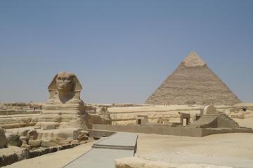 Aventure d'une demi-journée (matinée) aux pyramides de Gizeh et au...