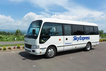 Private Transfer: New Chitose Airport to Lake Toya (15 Seater with Luggage)