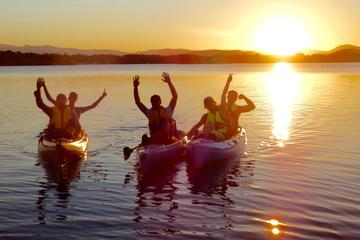Sunsets and Serenity Small-Group Pedal Kayak Tour in Canberra