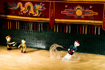 Vietnamese Water Puppet Show including Dinner Cruise