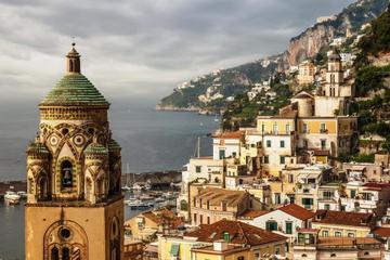 Excursion d'une journée sur la côte amalfitaine et à Pompéi au départ...