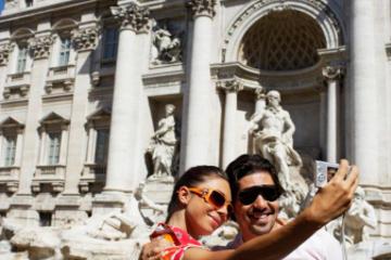 Traslado privado: Sorrento para Roma