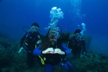 Diving in the marine area of Portovenere: Sea Baptism