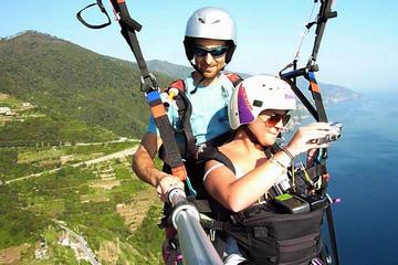 Paragliding Over the Cinque Terre