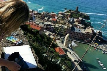 Vibrant Vernazza: Watercolor Painting Experience