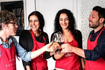 Spanish cooking in Sevilla
