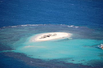 PARADISE ISLAND ARRIVE BY YACHT