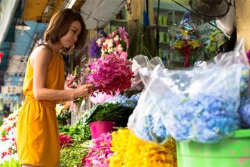 Tour privado al mercado de flores de...