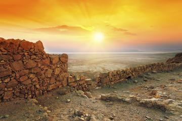 Alba a Masada, e gita all'Ein Gedi e al mar Morto da Gerusalemme