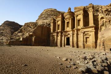 Excursión de 2 días a Petra y Jordania desde Jerusalén