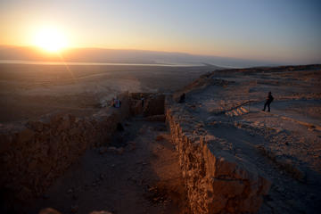 Self Guided Sunrise Masada, Ein Gedi Nature Reserve and Dead Sea Tour...