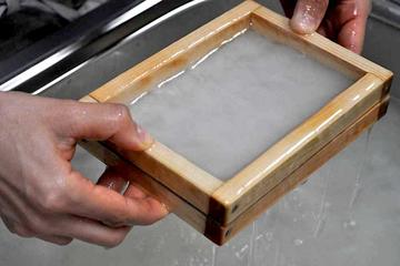 Traditional Japanese Washi Papermaking - the only place in Osaka!