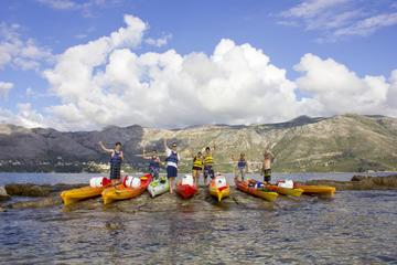 Piragüismo en el mar desde Cavtat