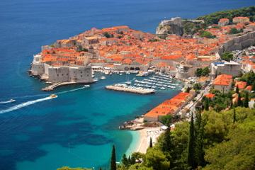 Visite en vélo de la campagne de Dubrovnik avec dégustation de vins